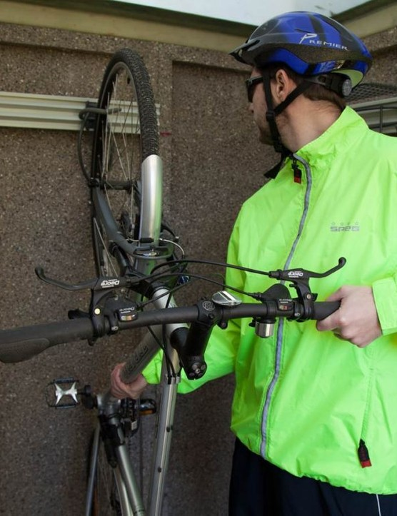 Brodco's Daylight Secure Max is perfect for storing bikes
