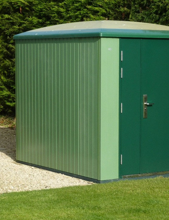 The Dailight Secure Max might be made of rubbish, but a police initiative says it's the best shed they've ever seen