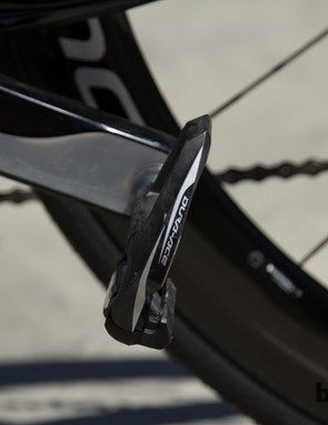 Shimano Dura-ace 9000 pedals are a popular choice