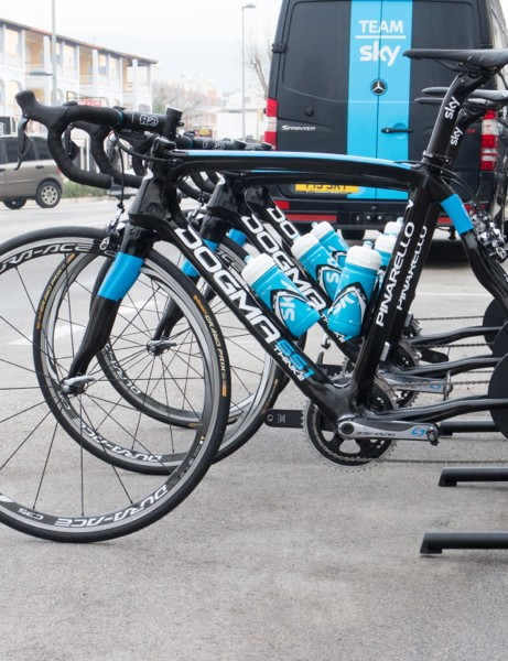 Team Sky will be using the Wahoo Kickr power trainer in 2014