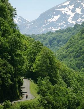 Road cyclists seeking a challenge should head to the Pyrénées