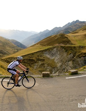 The Tourmalet is one of the most famous climbing sections of the Tour de France'