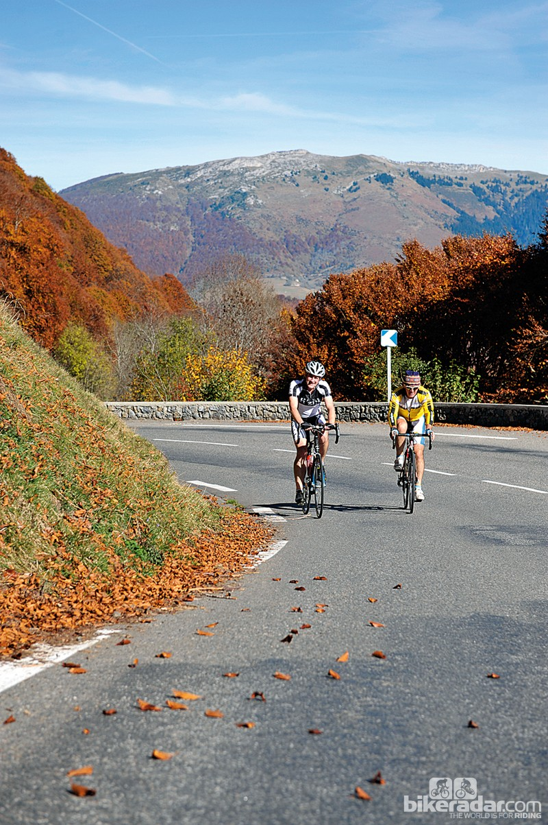 The Tourmalet offers a serious climbing challenge for holidaying cyclists