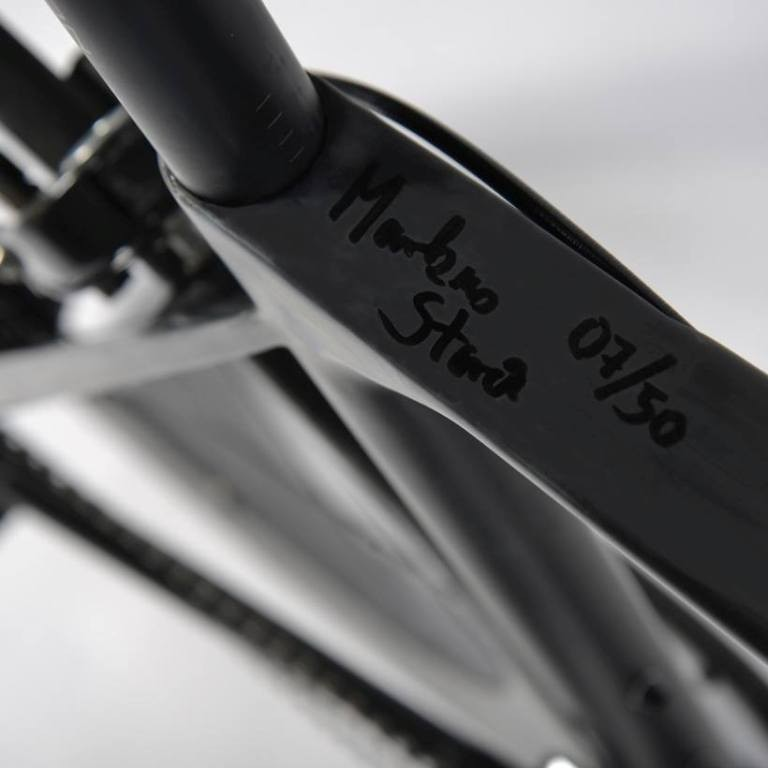 Markus Storck has signed all the special edition bikes