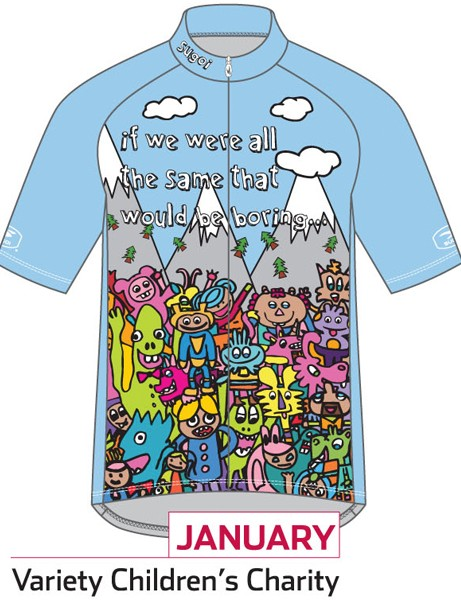 Sugoi Jersey of the Month program: the January jersey supports Variety Children's Charity