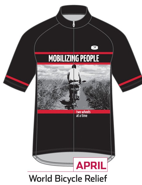 Sugoi Jersey of the Month program: the April jersey supports World Bicycle Relief