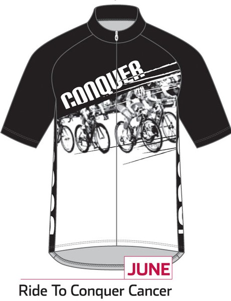 Sugoi Jersey of the Month program: the June jersey supports the Ride to Conquer Cancer