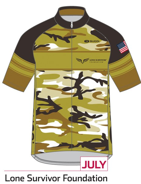 Sugoi Jersey of the Month program: the July jersey supports the Lone Survivor Foundation (United States)