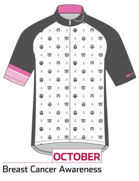 Sugoi Jersey of the Month program: the October jersey supports Breast Cancer Awareness