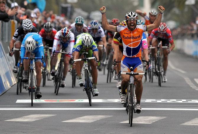 Oscar Freire, vincitore della Milano-Sanremo
