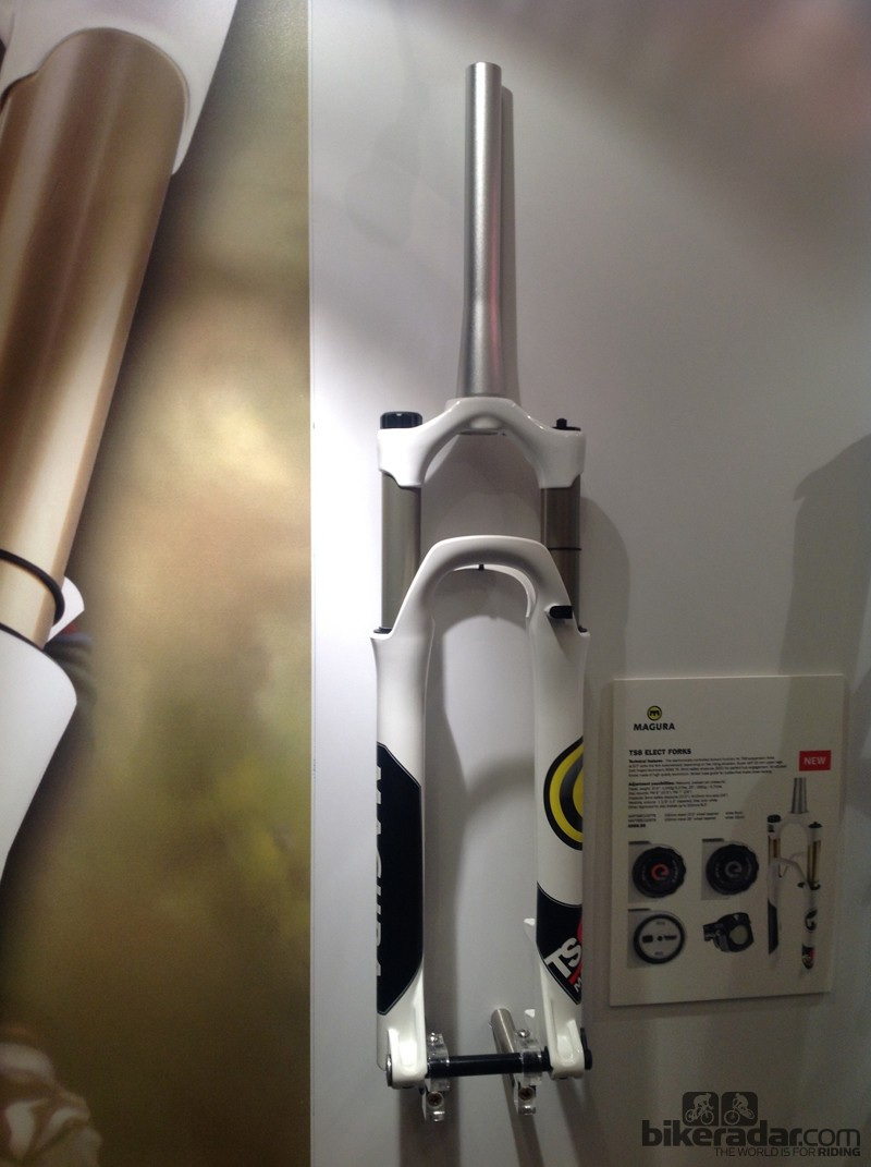 Magura's eLECT equipped TS8 fork retails for £999.99