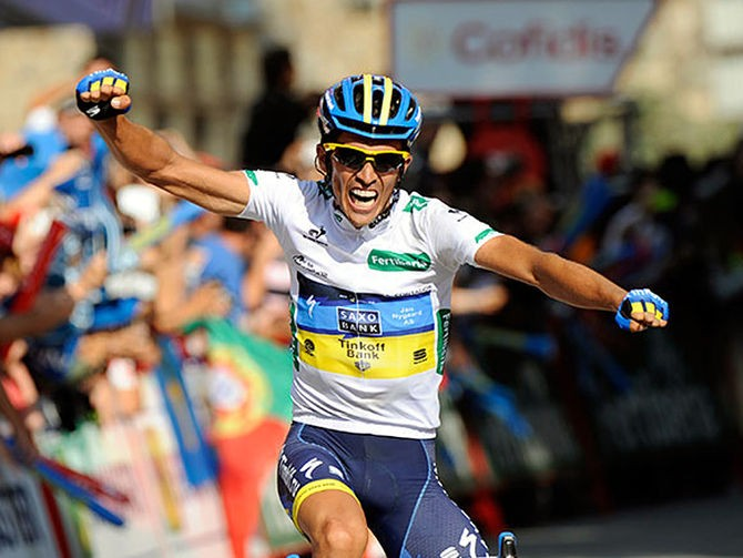 Alberto Contador, vincitore della Vuelta nel 2013