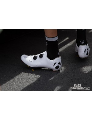 Another look at Frank Schlek's shoes - our guess these will replace or even sit above the current RXXXL shoes