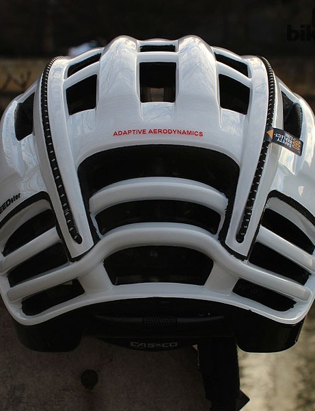 The Casco SPEEDster has a truncated rear end
