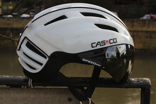 The Casco SPEEDster is a tech-rich entry level helmet