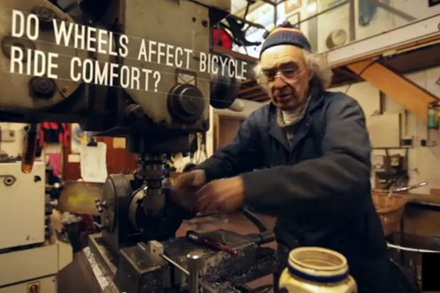 Mike Burrows on wheels and ride comfort