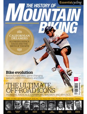 The History of Mountain Biking goes on sale on Friday 24 January in the UK and Ireland