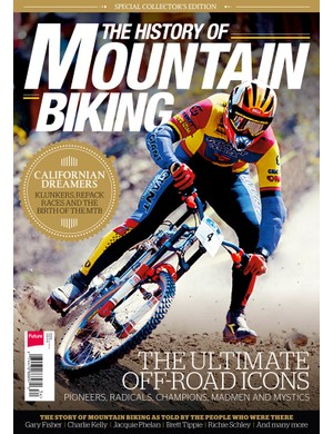 The History of Mountain Biking will be on sale in the USA before the end of February