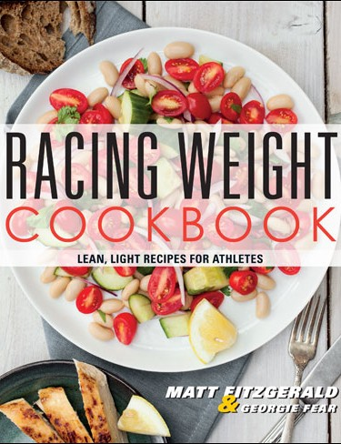 Racing Weight Cookbook is the third in Matt Fitzgerald's Racing Weight series