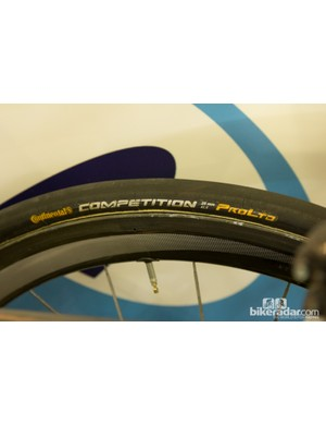 25mm tyres are becoming a common sight in the pro ranks - some teams didn't even bring 23c tyres with them