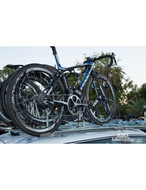 Another look at the new colours of team Giant-Shimano - expect big things from this team in 2014 with Marcel Kittel looking in form