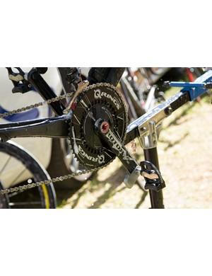 Garmin Vector pedals officially on a Garmin-Sharp bike