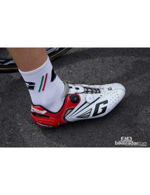 The Gaerne carbon G Chrono shoes continue the Boa trend