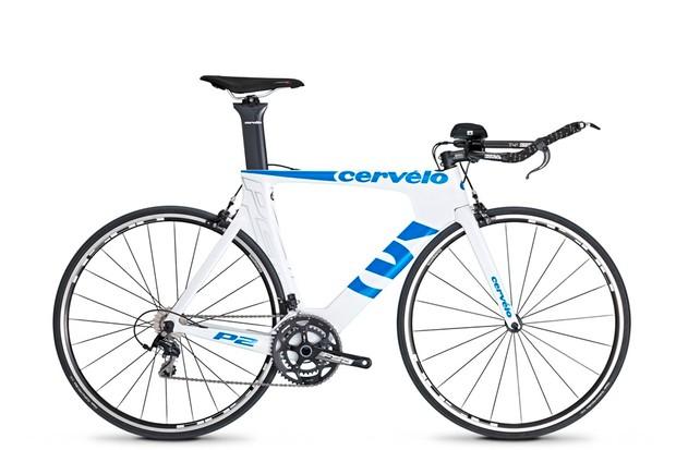 The new Cervélo P2 time trial bike