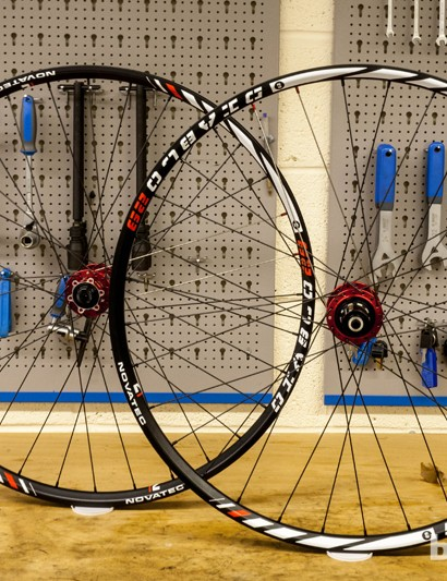 Novatec Diablo 29 wheels