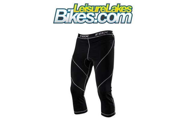 Save 45% off the retail price of Fox Evolution 3/4 padded liners with LeisureLakesBikes and BikeRadar Recommends