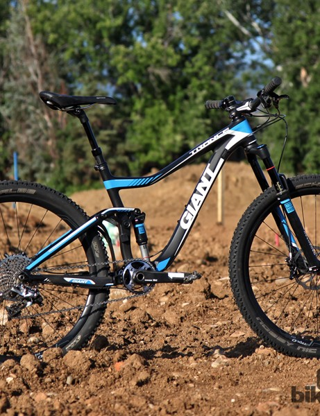 Giant's new Trance Advanced 27.5 0 is an absolute blast when pushed hard