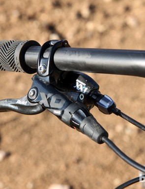 Say what you will about the reliability of other Avid hydraulic disc brake models but the X0 Trails have been mostly trouble-free on BikeRadar test bikes to date. Power and modulation are excellent too, and lever feel is outstanding, thanks in part to cartridge bearing pivots