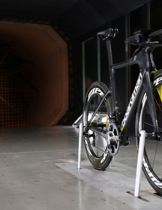 The Boardman AiR/TTE in the Southampton wind tunnel
