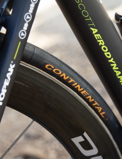 Continental tyres - the Pro Limited tubulars are a WorldTour only item currently