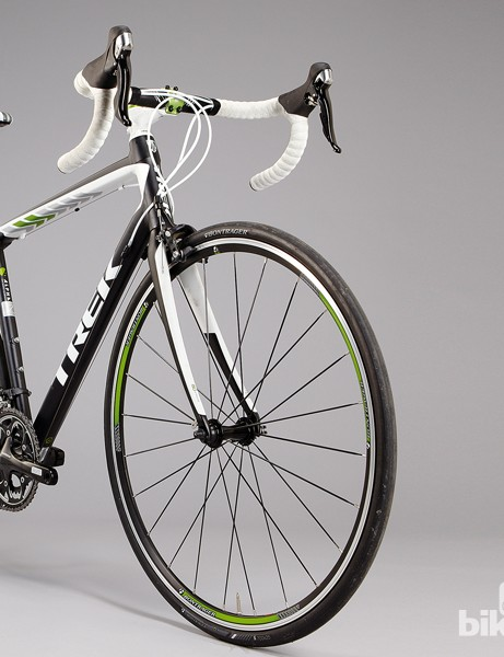 Trek Domane 2.3: the frame is 80g lighter than last year's model