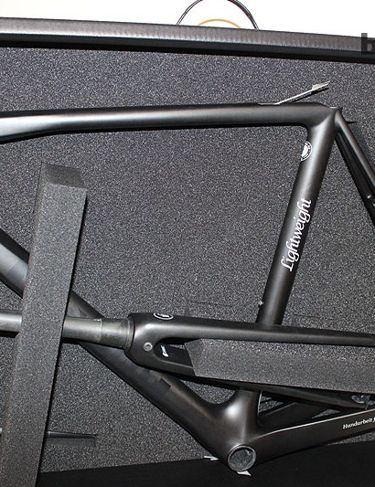 The box the Lightweight Urdgestalt comes in is as luxurious as the frame which costs north of £3,900