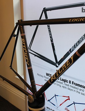 The Ritchey Logic road triple-butted frameset was revised last year and has room for 700x28c tyres. It's built for long, long days on the road