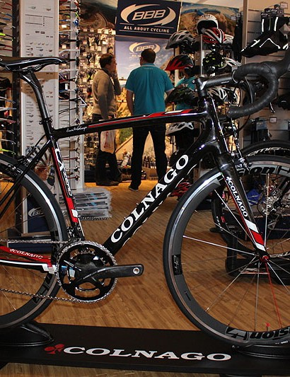 The Classics-ready and sportive-orientated Colnago CX Zero was released last year at the Tour de France. It gets its first outing in the Classics in a couple of months' time