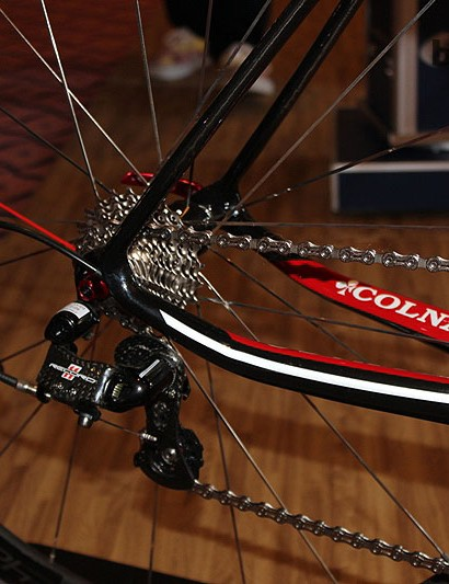 Colnago and Campagnolo go together like peas and carrots…