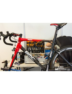 Team BMC had a good selection of tools available