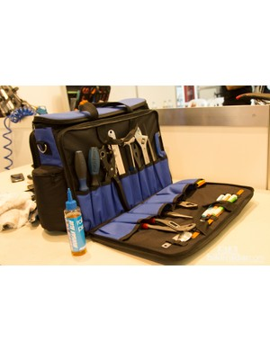 Another soft tool case for ease of transport - mechanics must be diligent to carry only crucial items