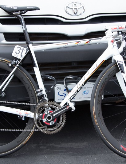 Greipel swapped between bikes depending on his stage chances - for the hillier stages he rode a Helium SL