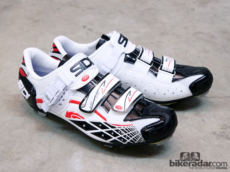 Sidi has updated the Spider SRS mountain bike shoes with a stiffer fiber-reinforced nylon sole
