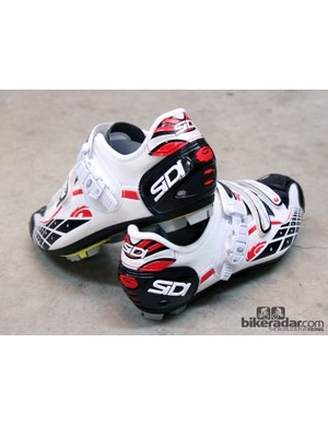 The Sidi Spider lacks the company's adjustable heel cup but still holds securely