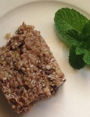 Jo Hogan's raw cacao energy slice