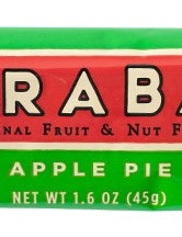 LARABARs are made from fruits, nuts and spices