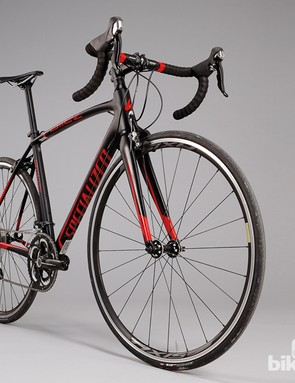 The Specialized Allez Race C2 was built with 'Smartweld' technology