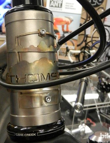 Thomson loves attention to detail and their head tube badge is another fine example of its love of going that extra mile