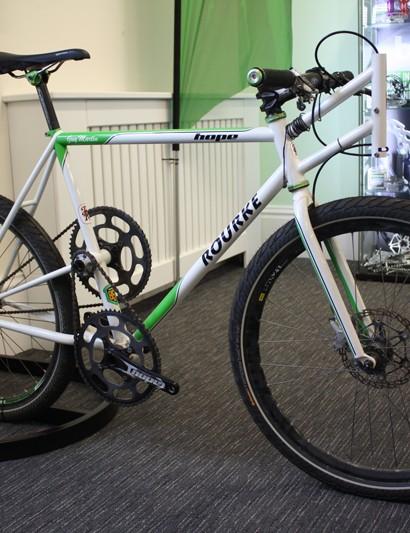 Guy Martin's custom Rourke land speed bike