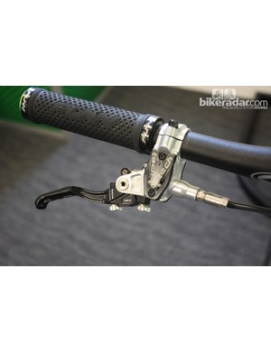 Hope Tech Evo lever for the M4 Evo front disc brake